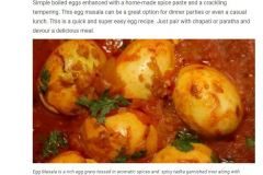 Our Food Photography used in  NDTV