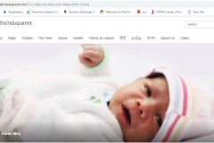 New Born Baby concept in indusparent