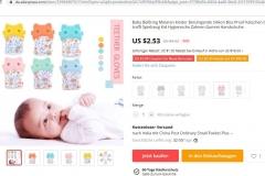 Baby Image in AliExpress Website