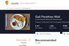 Our Food Photography used in  Swiggy
