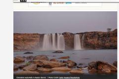 Chitrakote Waterfall used in Hindu newspaper