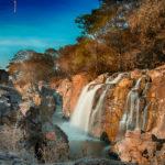 Drive to magnificent Hogenakkal waterfalls